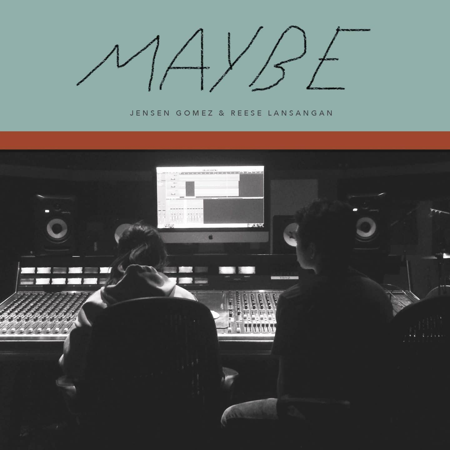 Jensen Gomez and Reese Lansangan collaborate on Maybe