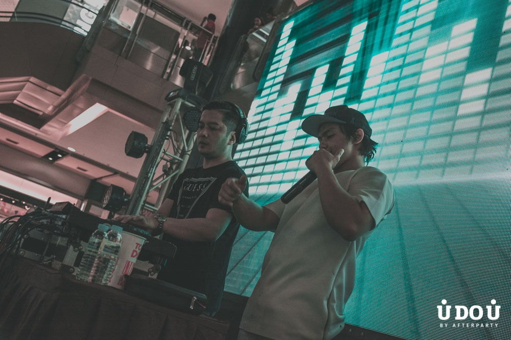 DJ Marc Marasigan and MC Victor Pring at Beats of Sinulog 2018