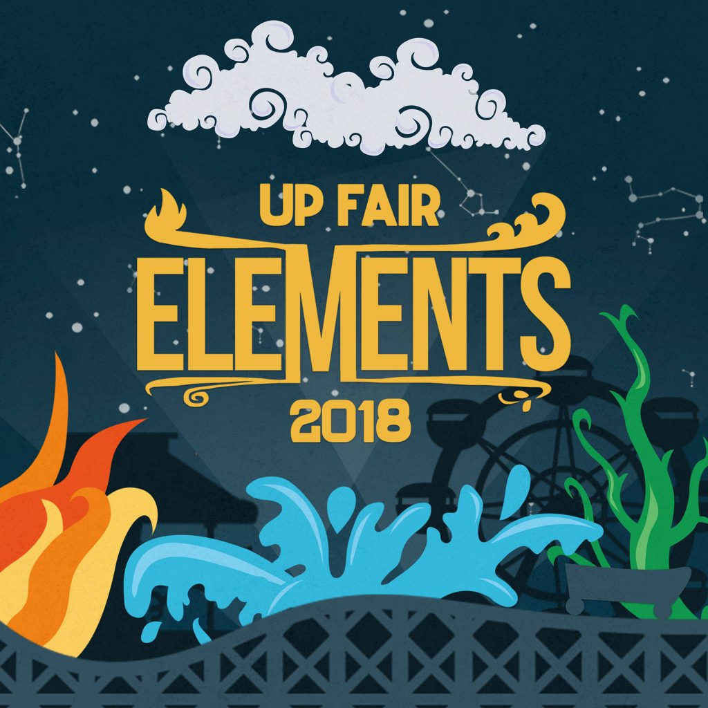 UP Fair Elements poster