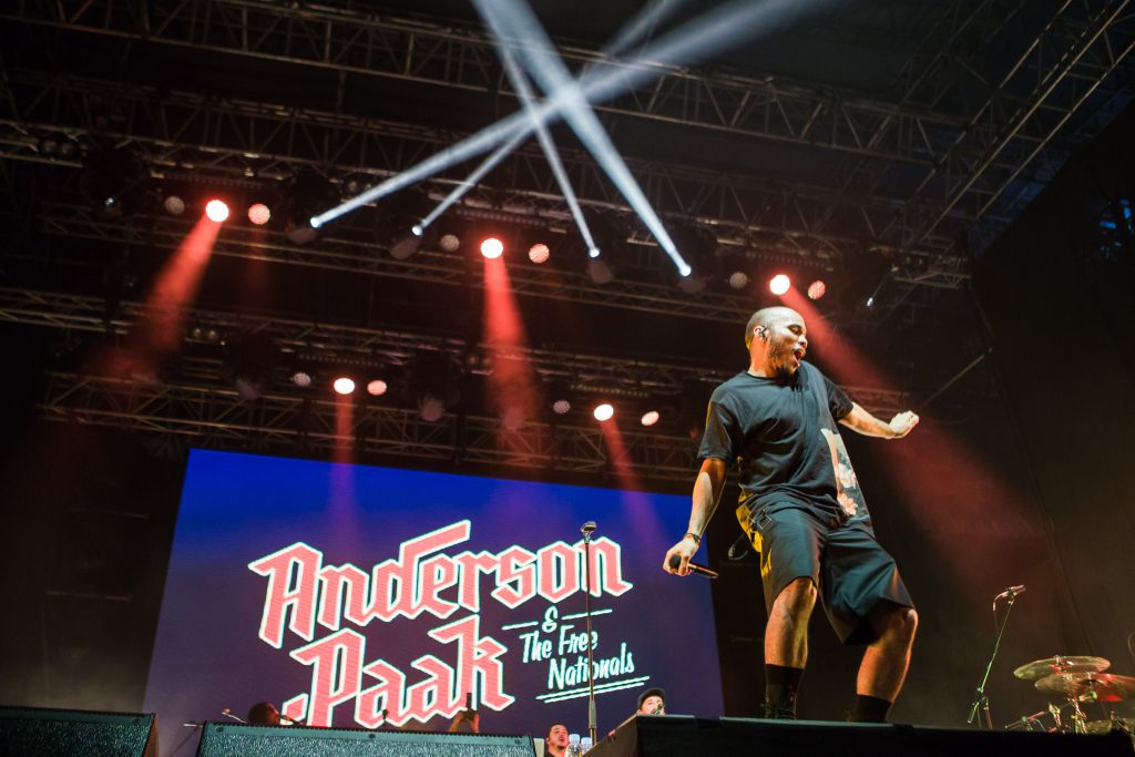 Anderson .Paak & The Free Nationals live at Laneway Festival Singapore 2018