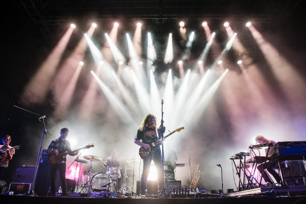 The War On Drugs live at Laneway Festival Singapore 2018