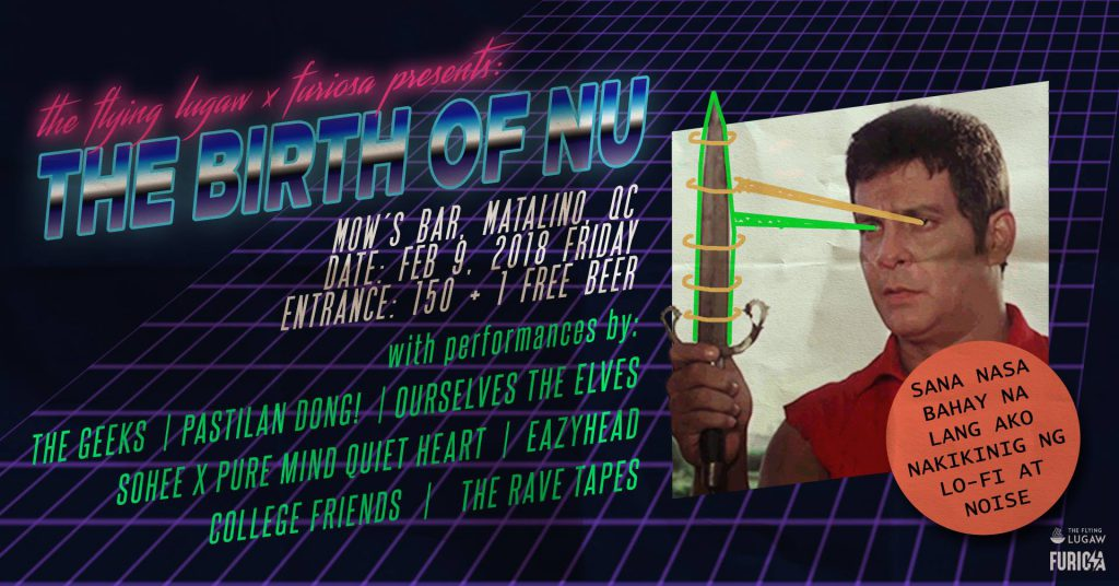 Poster for The Birth of NU at Mow's