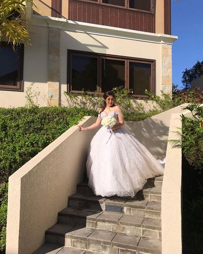 Do It Yourself Wedding Gown Preservation: FASHION: Moira Dela Torre's Wedding Gown