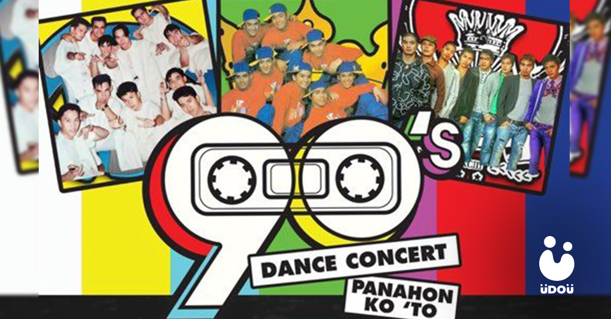 90's Dance Concert U Do U Header