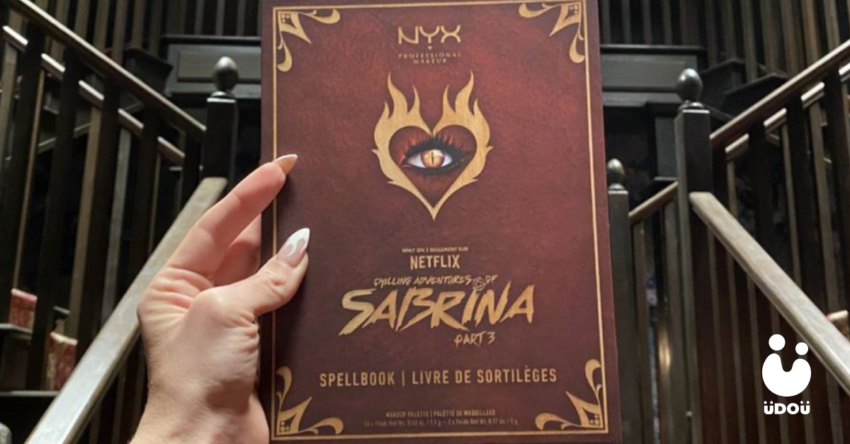 Chilling Adventures of Sabrina makeup palette by NYX