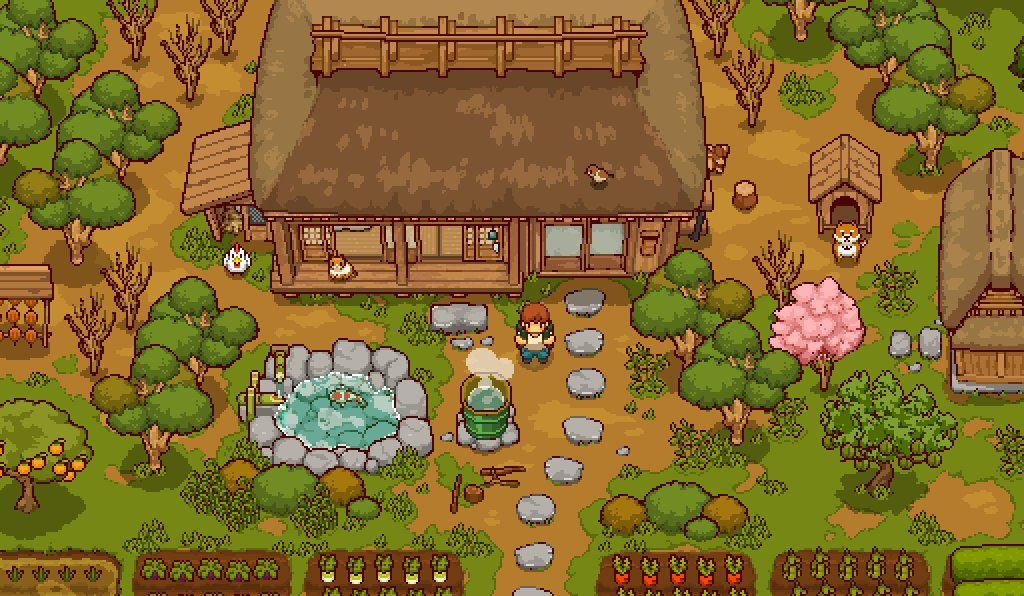 japanese country life game
